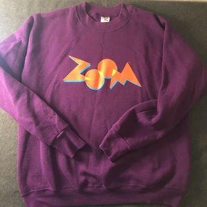 ZOOM purple sweatshirt